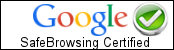 Google SafeBrowsing Certificate Logo