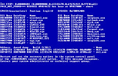 Lucom F2133wh4 A21CD0 blue screen